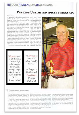 George Bulliard featured in the Greater Lafayette Business Journal