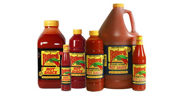 Bulliard's Classic Cayenne and Hot Sauce Products